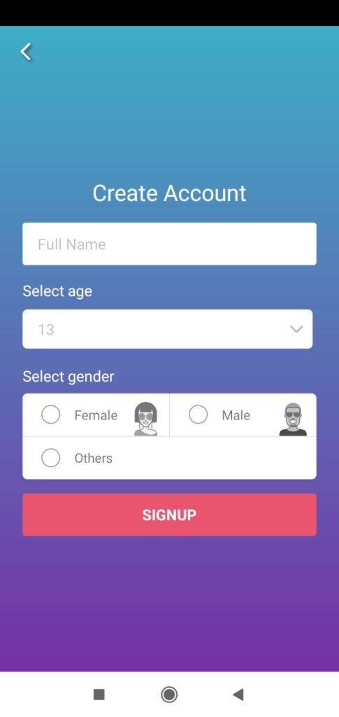 Roposo Create Account